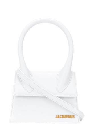 Shop white Jacquemus Le Chiquito tote bag with Express Delivery - Farfetch