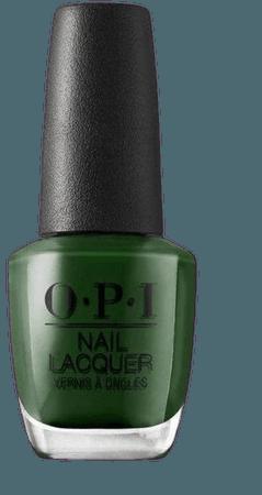 opi green envy nail polish