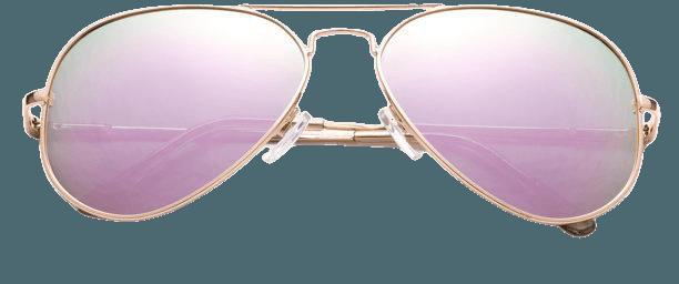 Newbee Fashion - Polarized Aviator Sunglasses Mirrored Lens Classic Aviator Polarized Sunglasses Small - Walmart.com - Walmart.com