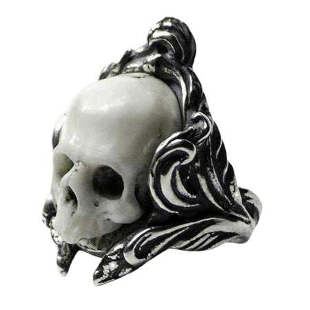 Rocaille ring macabre gadgets