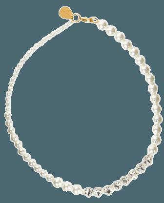 Pearl & Crystal Necklace By Simone Rocha   Moda Operandi