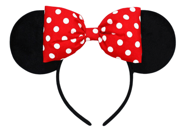 Minnie Mouse Ears Red Mickey Ears Minnie Mouse Headband Mouse | Etsy