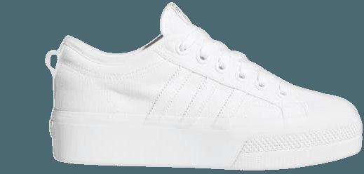 adidas Nizza Platform Shoes - White   adidas US