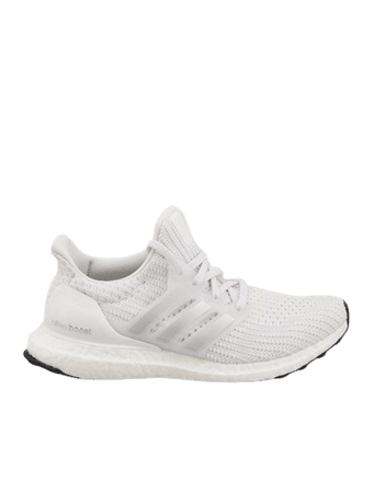 adidas Running Ultraboost DNA sneakers in white and silver | ASOS