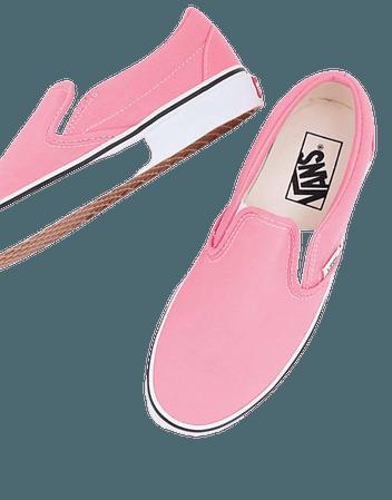 Vans UA Classic Slip on sneakers in pink | ASOS