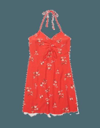 AE Halter Mini Slip Dress