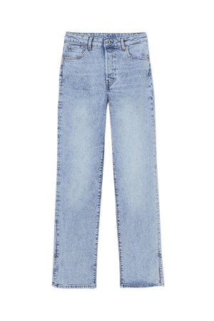 Straight Vintage High Jeans - Blue