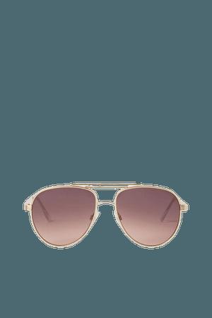 Sunglasses - Gold-colored - Ladies   H&M US