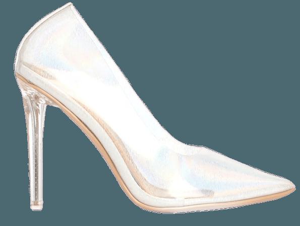 Moving To Better Things Pump - White/Multi – Fashion Nova