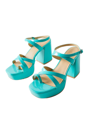 UO Gigi Strappy Platform Sandal | Urban Outfitters