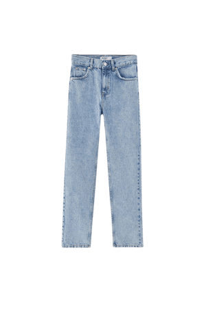 Basic mom jeans - ecologically grown cotton (at least 50%) - pull&bear
