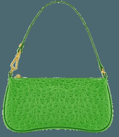 Eva Shoulder Bag - Grass Green Ostrich – JW PEI