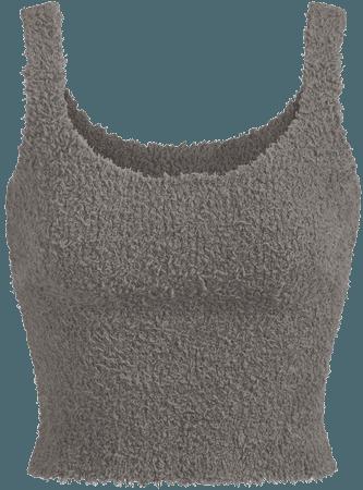 Cozy Knit Tank - Bone   SKIMS