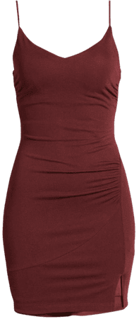 Side Ruched Body-Con Minidress | Nordstrom