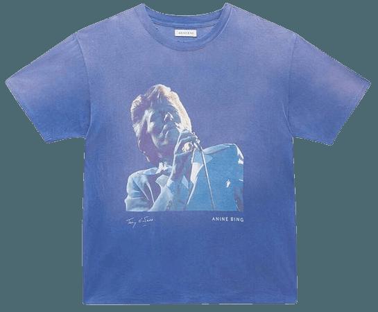 ANING BING Ida Tee Ab X To Bowie - Blue