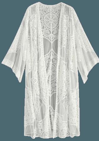 Boho lace outer