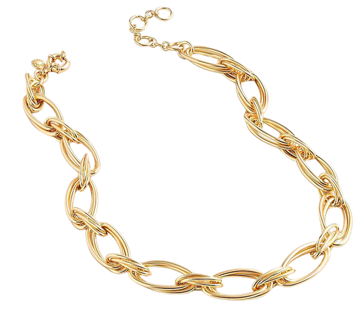 J.Crew: Layered Gold Link Necklace For Women