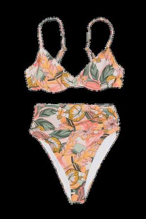 Beach Riot Highway High-Waisted Bikini Bottom | Urban Outfitters