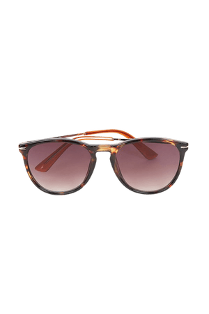 Brown Tortoise Sunglasses - Round Sunglasses - Tortoise Sunnies - Lulus