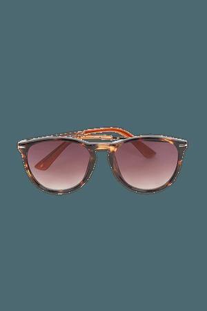 Brown Tortoise Sunglasses - Round Sunglasses - Tortoise Sunnies - Lulus