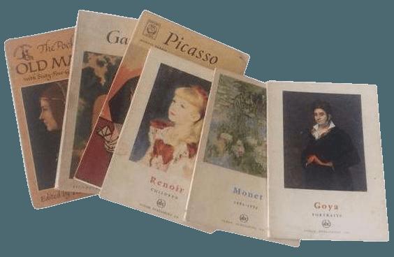 Mid-Century Pocket Library of Great Art