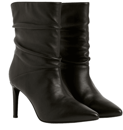 ALLSAINTS US: Womens Olia Leather Boots (black)