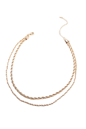 Rope Chain Layer Necklace | Urban Outfitters