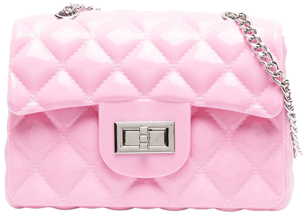 Shop pink Monnalisa quilted twist-lock shoulder bag with Express Delivery - Farfetch