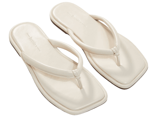 Padded flat sandals - Shoes - Woman | Bershka