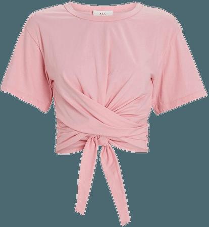 A.L.C. Jules Wrap T-Shirt   INTERMIX®