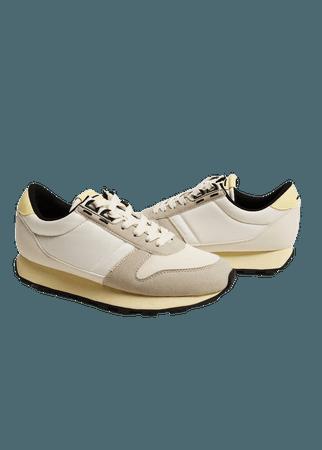 Platform lace-up sneakers - Women | Mango USA