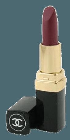 Chanel dark red lipstick