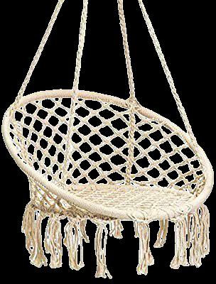 Amazon.com: Karriw Hammock Chair Macrame Swing,Cotton Hanging Macrame Hammock Swing Chair Ideal for Indoor, Outdoor, Home,Bedroom, Patio, Deck, Yard, Garden (Beige): Garden & Outdoor