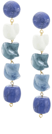 Cult Gaia Stone Earrings - Farfetch