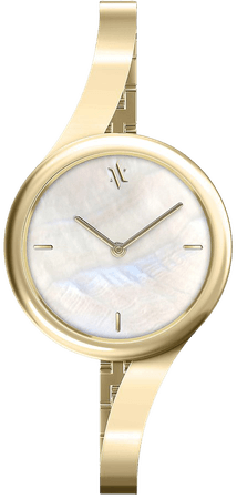 VANNA Claire Watch in Gold & Pearl | REVOLVE