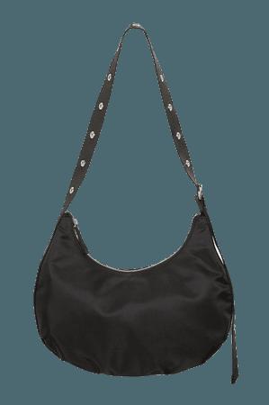 Grommet strap bag - Black - Bags - Monki WW