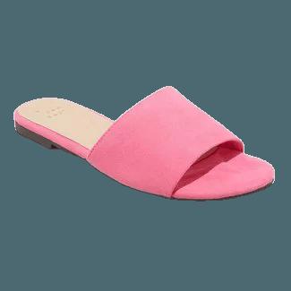 target pink sandal