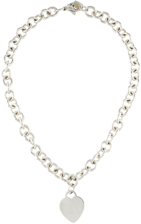 TIFFANY & CO. Heart Tag Necklace - The Real Real