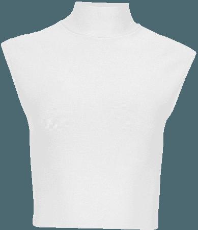 Sleeveless Turtleneck Crop Top – BCBGMAXAZRIA