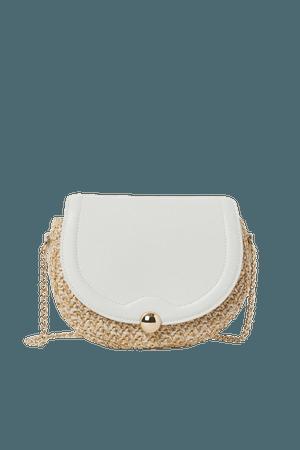 Shoulder Bag - Beige