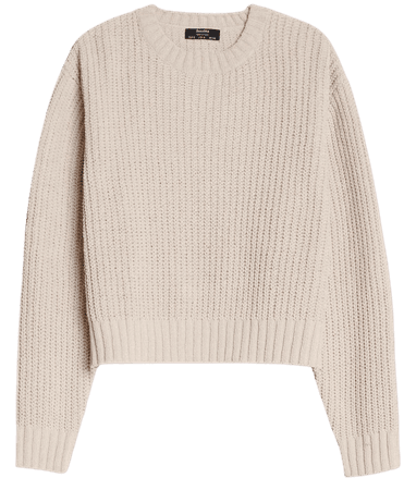 Chenille sweater - New - Bershka United States