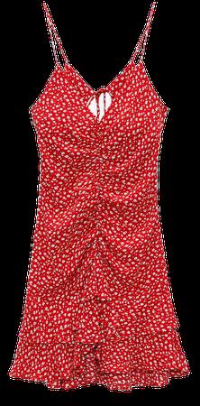 DRAPED FLORAL DRESS | ZARA United States