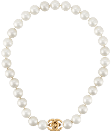 Chanel Pre-Owned 1996 gold-plated Faux Pearl Necklace - Farfetch