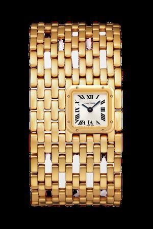 Gold Panthère de Cartier Manchette 22mm 18-karat gold watch | Cartier | NET-A-PORTER