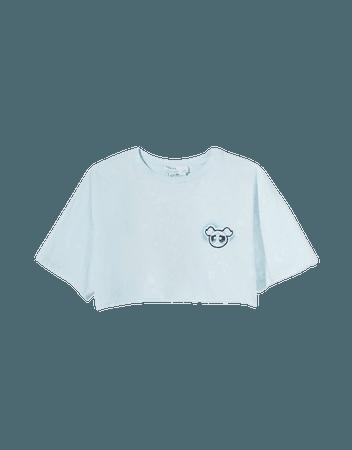 Powerpuff Girls cropped T-shirt - Tees and tops - Woman | Bershka