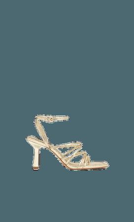 High heel strappy sandals - Women's Just in | Stradivarius United States
