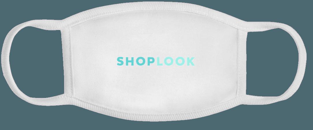 ShopLook Main Logo Face Mask   Spreadshirt