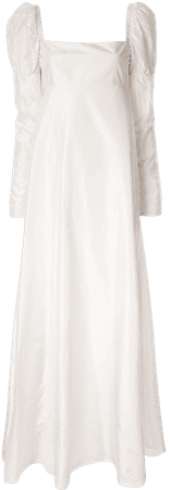 Shop white Macgraw Romantic gown with Express Delivery - Farfetch