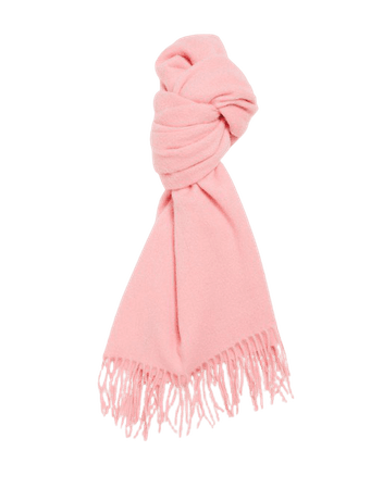 & Other Stories knitted scarf in pink   ASOS