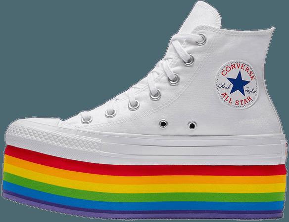 Miley Cyrus Pride Rainbow Platform